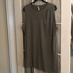 Lucy Tank Tunic with Shoulder Detail
